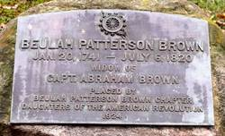 Beulah <i>Patterson</i> Brown