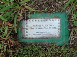 Minnie May Acevedo