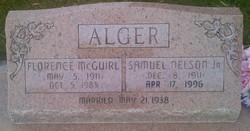 Florence <i>McGuirl</i> Alger