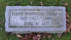 Elaine Evangeline <i>Dexter</i> Denham