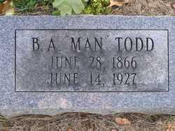 Benjamin Albert Man Todd