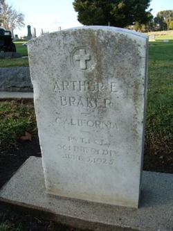 PFC Arthur Eugene Braker