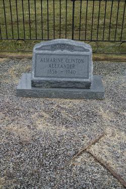 Almarine <i>Clinton</i> Alexander