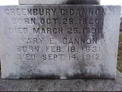 Mary E Cannon
