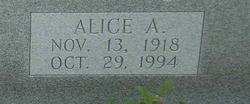Alice A. Marshall