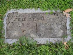 Myrtle <i>Mitchell</i> Dewitt