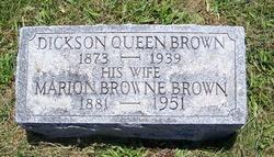 Marion <i>Browne</i> Brown