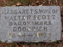 Margaret S <i>Goodrich</i> Scott