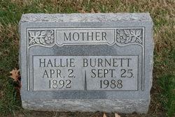 Hallie <i>Elder</i> Burnett