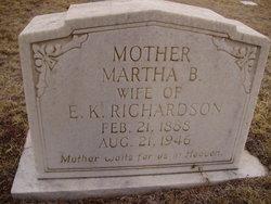 Martha Alabama Bam <i>Leatherwood</i> Richardson
