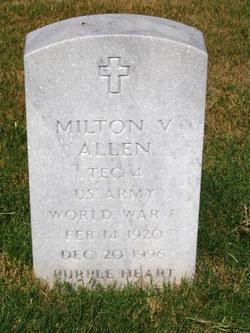 Milton Valentine Mutt Allen