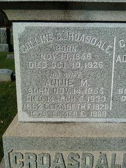 Anna May Annie <i>Titus</i> Croasdale