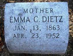 Emma Christine <i>Oppenheim</i> Dietz