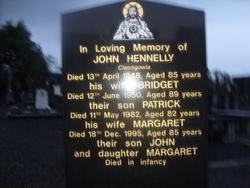 Margaret (Baby) Hennelly