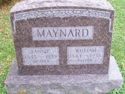 Fannie <i>Lair</i> Maynard