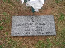 PFC Leon Dwight Ramsey