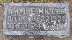 Amalie <i>Gebauer</i> Miller