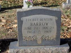 Lucille <i>Benton</i> Barrow