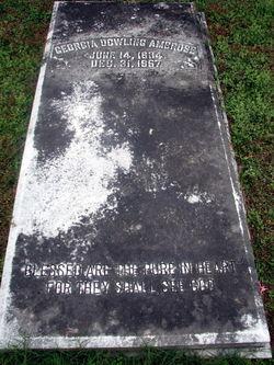 Georgia <i>Dowling</i> Ambrose
