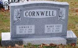 Gorman Frederick Cornwell
