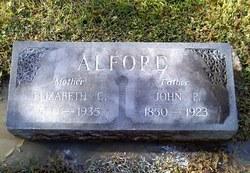 Elizabeth Cynthia <i>Prator</i> Alford