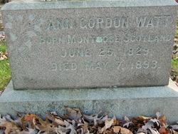 Ann <i>Gordon</i> Watt