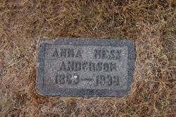 Anna <i>Ness</i> Anderson
