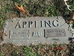 Mary Alice <i>Ferrell</i> Appling