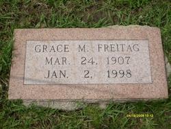 Grace Mildred <i>Hanes</i> Freitag