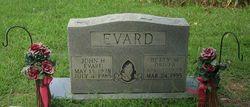Betty M. <i>Driver</i> Evard