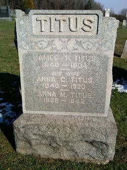 Anna M Titus