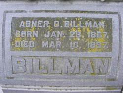 Abner O Billman
