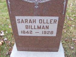 Sarah <i>Oller</i> Billman