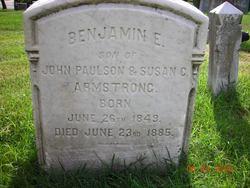 Benjamin E Armstrong