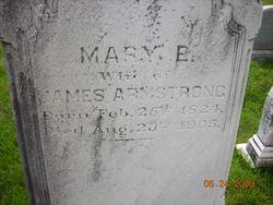 Mary E Armstrong