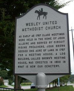 Wesley United Methodist Church Cemetery