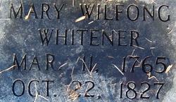 Mary Elizabeth <i>Wilfong</i> Whitener