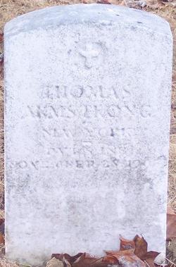 PVT Thomas Armstrong