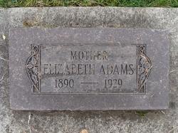 Elizabeth <i>Major</i> Adams