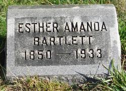 Esther Amanda <i>Sapp</i> Bartlett