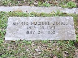Marie <i>Powell</i> Jones