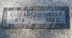 Elizabeth Elvina <i>Glenn</i> Moser