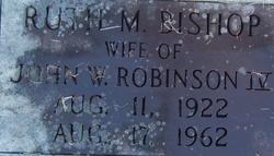 Ruth M. Bishop