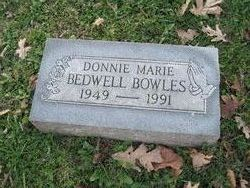 Donnie Marie <i>Bedwell</i> Bowles