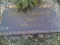 Cheryl Sue Susie Robinson