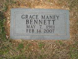 Grace Carolyn <i>Maney</i> Bennett