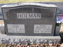 Bertha Emma <i>Finley</i> Holman