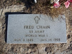 Frederick Clinton Fred Chain