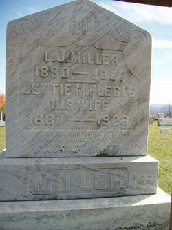 Lettie M <i>Flegle</i> Miller
