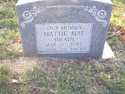 Mattie Mae <i>McCraw</i> Drain
